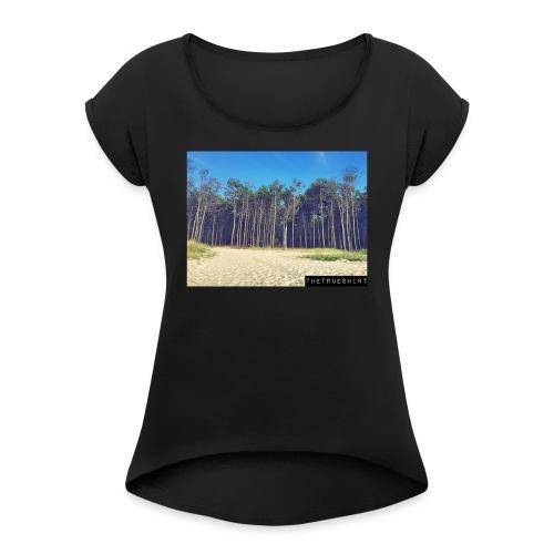 Plage de la Lagune - T-shirt à manches retroussées Femme