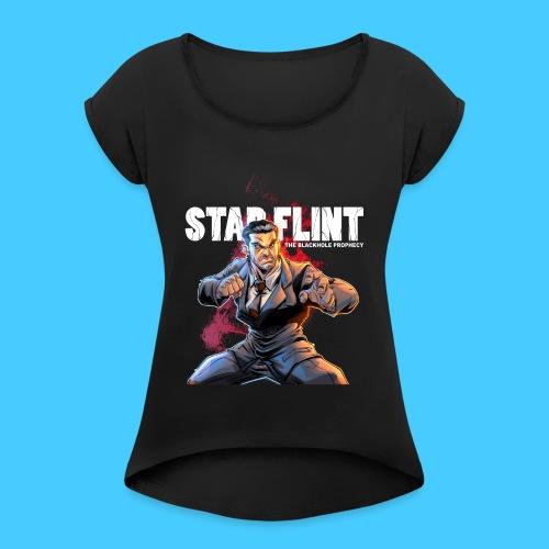 Draco Vargas 2 - T-shirt à manches retroussées Femme