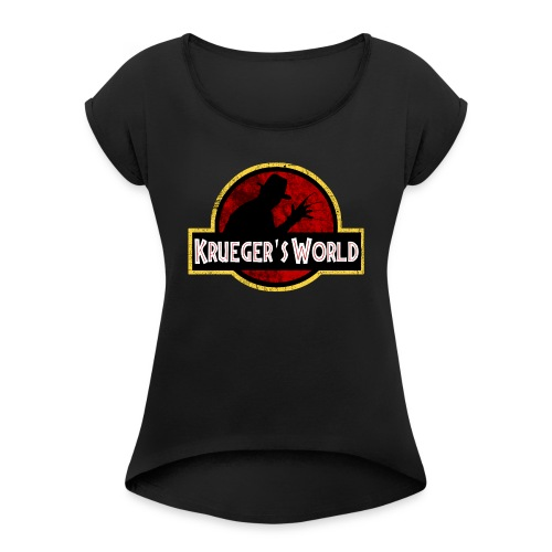 Krueger' World - T-shirt à manches retroussées Femme