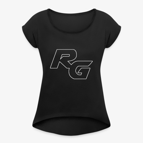 Logo RG Minimal - Maglietta da donna con risvolti