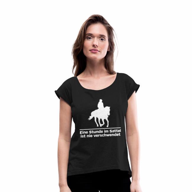 Pferde T-Shirt mit Pferdespruch, Pferdesprüche