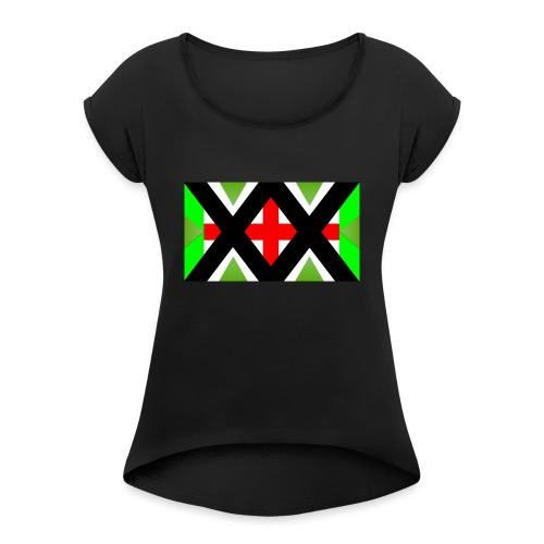 UDS 3 - Women's T-Shirt with rolled up sleeves