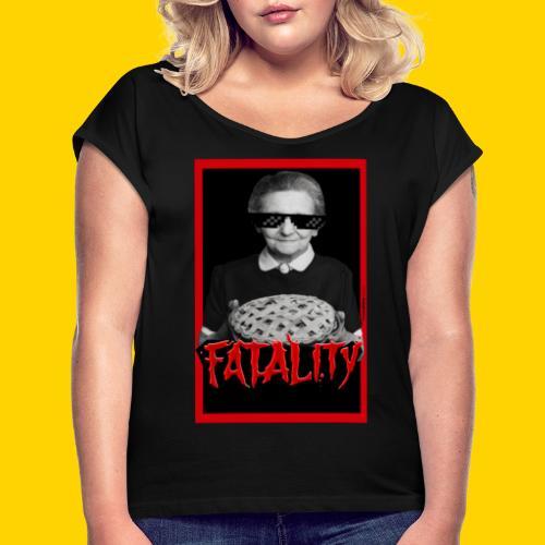 Fatality - Maglietta da donna con risvolti