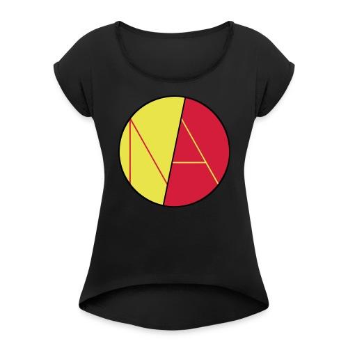 Neele und Axel Spreadshir - Frauen T-Shirt mit gerollten Ärmeln