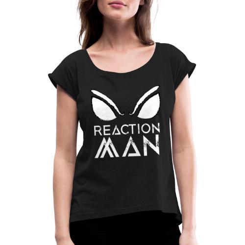 ReactionMan Style - Maglietta da donna con risvolti