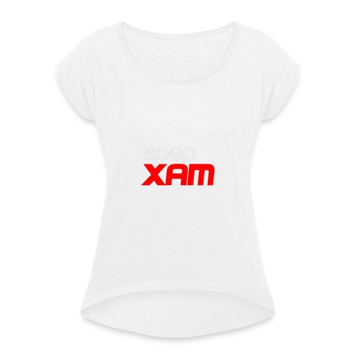 Ispep XAM - Women's T-Shirt with rolled up sleeves