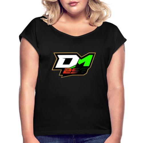 Dominik Möser 256 - Frauen T-Shirt mit gerollten Ärmeln
