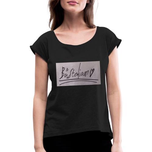 Bästa Liam 2 2 - T-shirt med upprullade ärmar dam