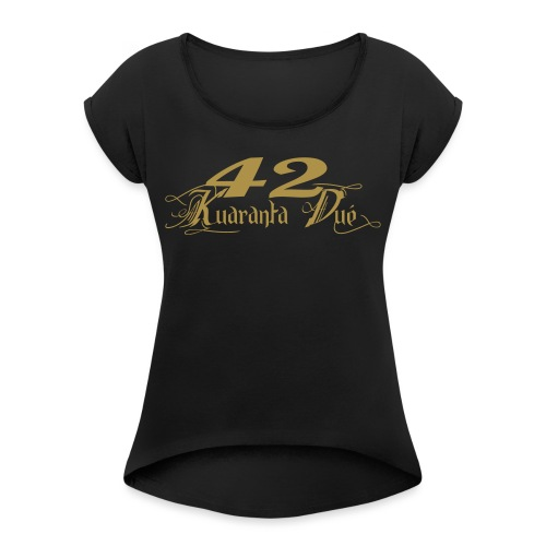 LOGO KD CLASSIK - T-shirt à manches retroussées Femme