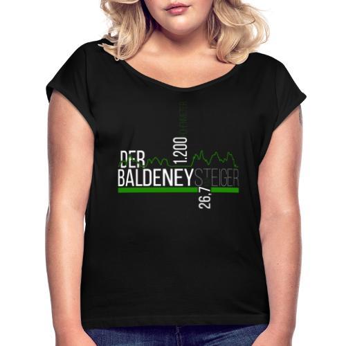 BALDENEYSTEIGER - Frauen T-Shirt mit gerollten Ärmeln