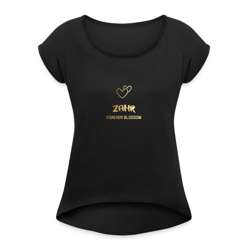 Zahr - Women's T-Shirt with rolled up sleeves