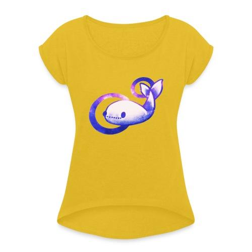 UNIVERSE GARRY - Maglietta da donna con risvolti