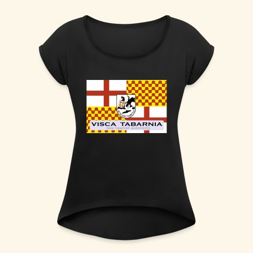 tabarnia01 - Camiseta con manga enrollada mujer