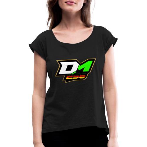 Dominik Mösedr - Frauen T-Shirt mit gerollten Ärmeln