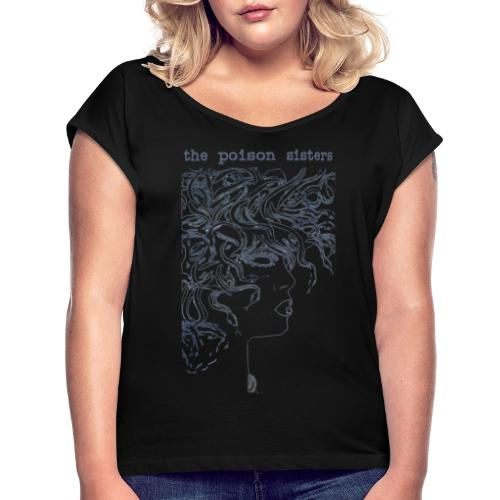 Medusa - Women's T-Shirt with rolled up sleeves