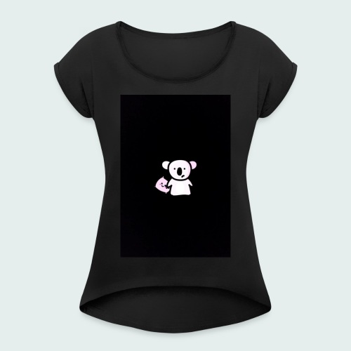 Sleepy Beepy - Women's T-Shirt with rolled up sleeves