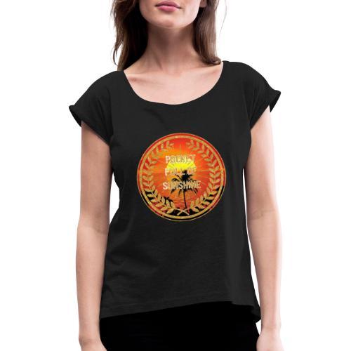 MonkeyShy pocket full of sunshine - T-shirt à manches retroussées Femme