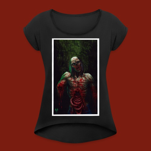Zombie's Guts - Women's T-Shirt with rolled up sleeves