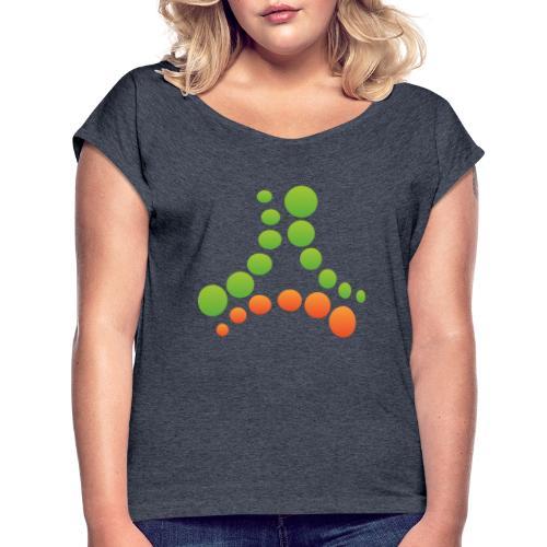 logotipo - Maglietta da donna con risvolti