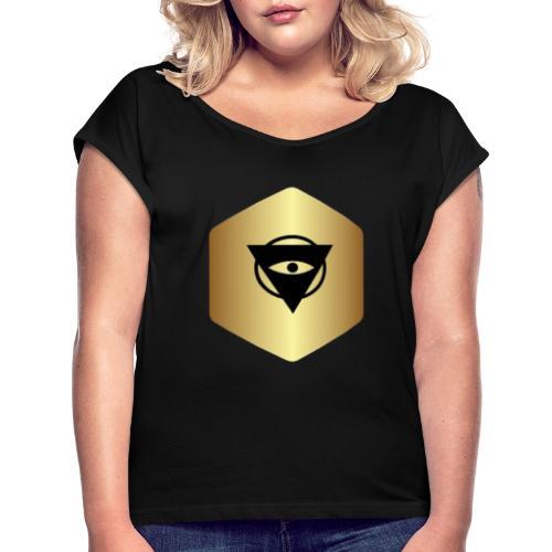 IMPERIUM CO - Vrouwen T-shirt met opgerolde mouwen