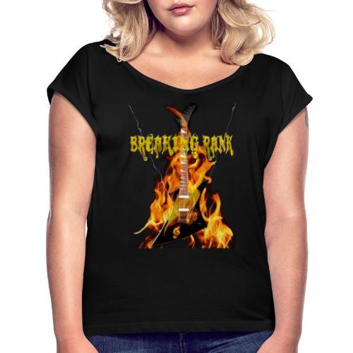 Breaking Rank Guitar new - Frauen T-Shirt mit gerollten Ärmeln