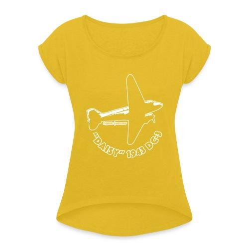 Daisy Flyover 2 - T-shirt med upprullade ärmar dam