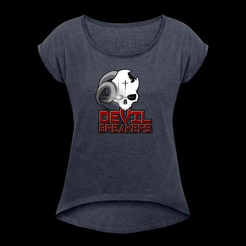 Devil Breakers - Women's T-Shirt with rolled up sleeves