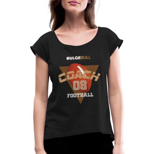 fútbol bulgebull - Camiseta con manga enrollada mujer