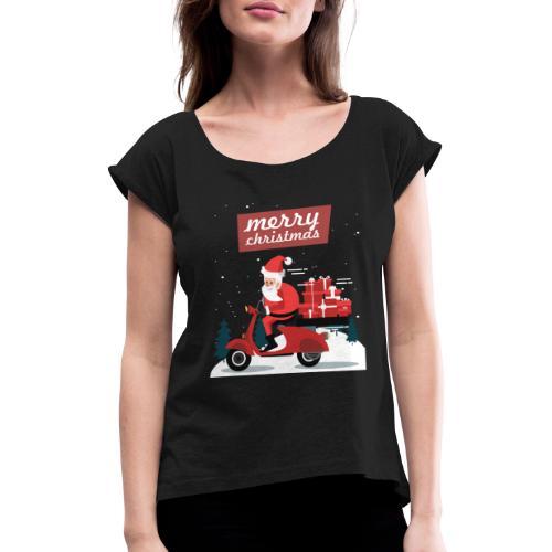 Gift 04 - T-shirt à manches retroussées Femme