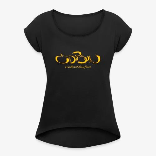 Edison 2018: A Medieval Demofeast T-SHIRTS & TOPS - T-shirt med upprullade ärmar dam