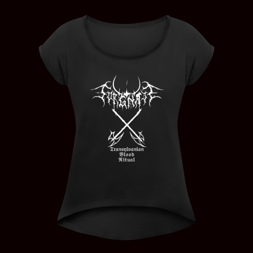 Sorgnatt - Transylvanian Blood Ritual - Women's T-Shirt with rolled up sleeves