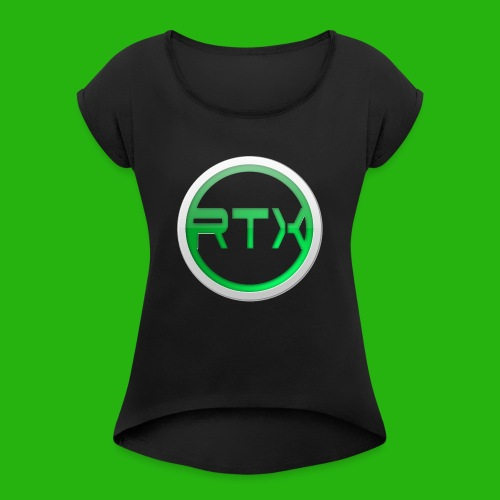 Logo Shirt - Women's T-Shirt with rolled up sleeves