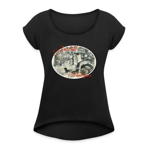 Zweitakt Hooligans 2 - Frauen T-Shirt mit gerollten Ärmeln