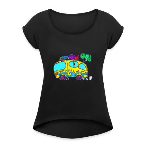 Hippie - Maglietta da donna con risvolti