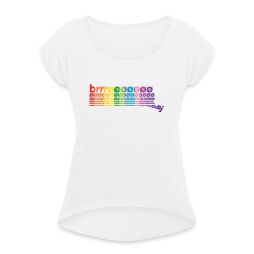 CB Special - Dame T-shirt med rulleærmer