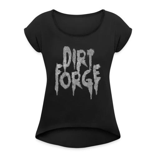 Dirt Forge Gravel t-shirt - Dame T-shirt med rulleærmer