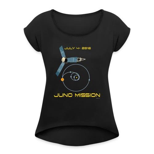 June_t-shirt - Maglietta da donna con risvolti
