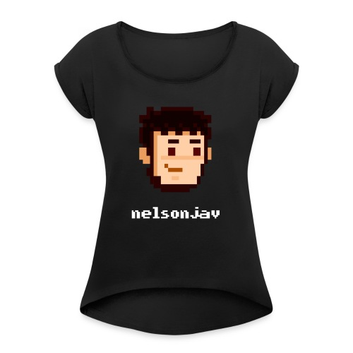 Simple Nelsonjav - Women's T-Shirt with rolled up sleeves