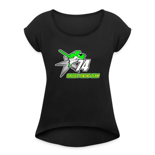 Rallier Racing Team - T-shirt à manches retroussées Femme