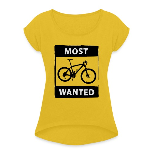 MTB - most wanted 2C - Frauen T-Shirt mit gerollten Ärmeln