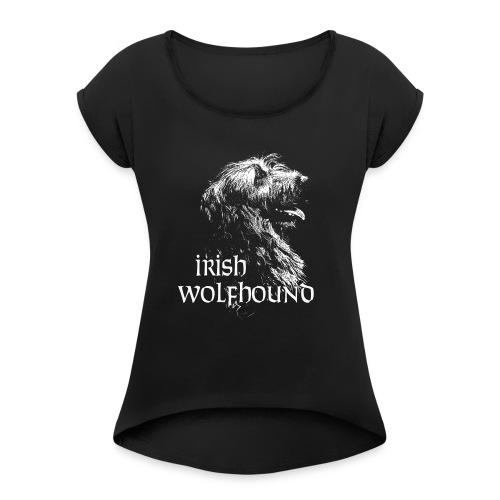 IW Céleste - T-shirt à manches retroussées Femme