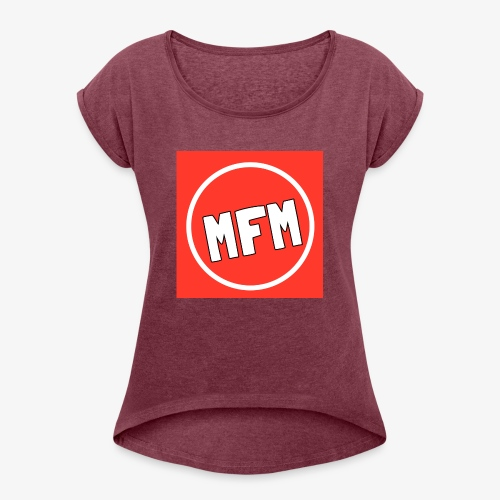 MrFootballManager Clothing - Women's T-Shirt with rolled up sleeves