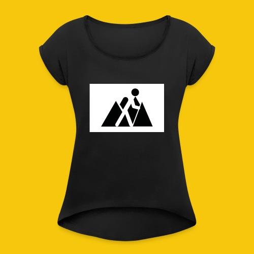 Randonneur - T-shirt à manches retroussées Femme