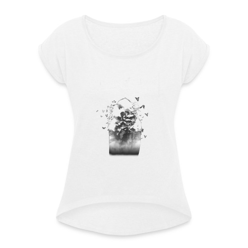 Verisimilitude - Lady Fit - Women's T-Shirt with rolled up sleeves