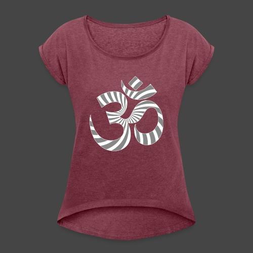 Om Aum Tekno 23 - T-shirt à manches retroussées Femme