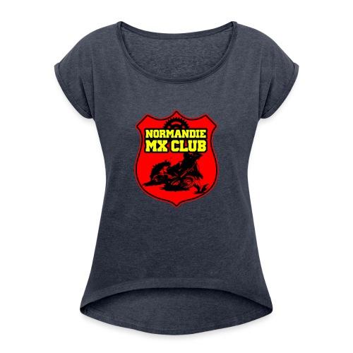 Casquette Normandie MX Club - T-shirt à manches retroussées Femme