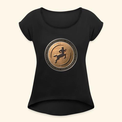 Centauri Bestseller - Frauen T-Shirt mit gerollten Ärmeln