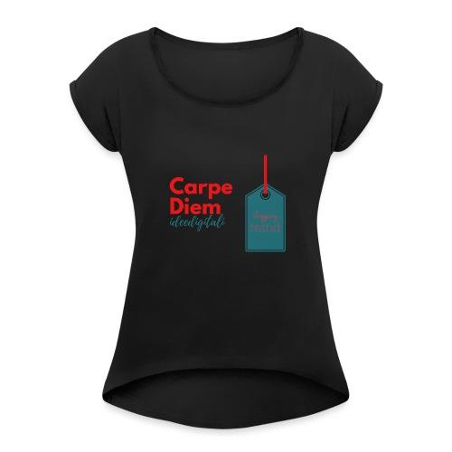 carpe diem - Maglietta da donna con risvolti
