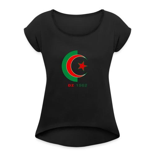 logo 3 sans fond dz1962 - T-shirt à manches retroussées Femme