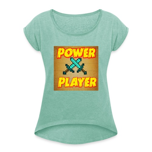 NUOVA LINEA POWER PLAYER - Maglietta da donna con risvolti